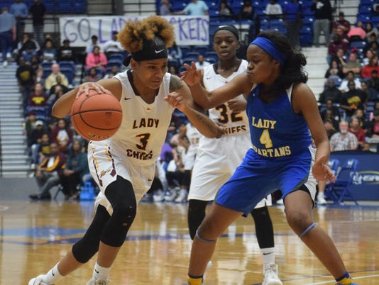 Natchitoches Central vs. East Ascension in the Class 5A LHSAA state championship held Saturday at the Rapides Parish Coliseum.