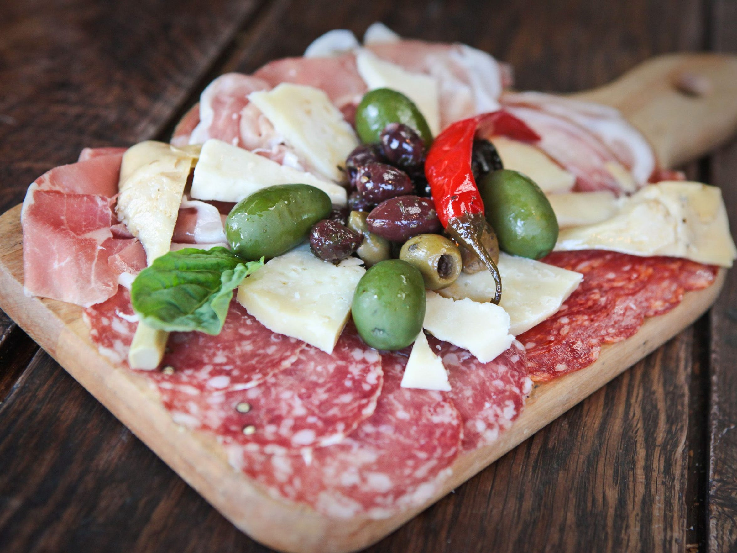 Antipasto from Andreoli Italian Grocer in Scottsdale.