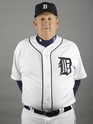This is a 2012 photo of Gene Lamont of the Detroit Tigers baseball team. This image reflects the Tigers active roster as of Tuesday, Feb. 28, 2012, when this image was taken. (AP Photo/Jeff Roberson)