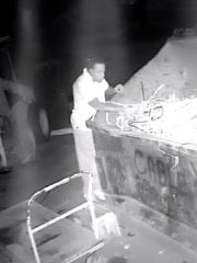 Fort Myers police are asking the public to help located men responsible for break-ins at Allied Recycling.