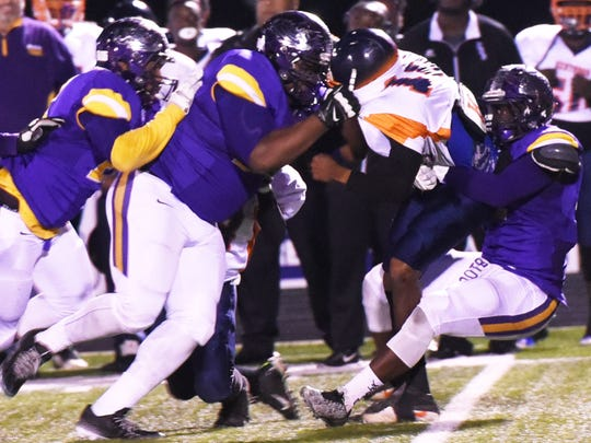 Logansport's defense  takes down Kentwood in the LHSAA