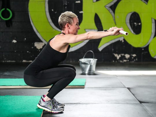 Donna Barton Brothers is a former jockey who won more than 1,100 races in her career and now works as an NBC horse racing analyst. She also maintains her fitness regime. Using squats helps strengthen the legs and glutes.