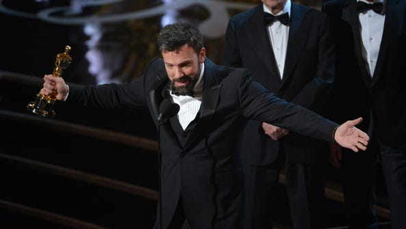 """""""Argo"""" director and co-producer Ben Affleck takes the"""