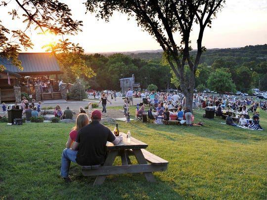 Arrington Vineyards' Music in the Vines concert series attracts people of all ages.