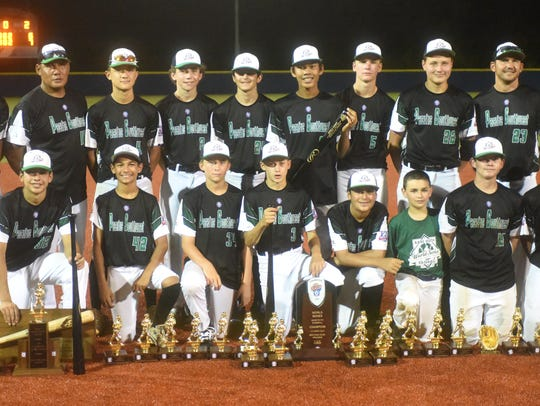 Five Cities, Calif., after winning the Babe Ruth 13-year-old