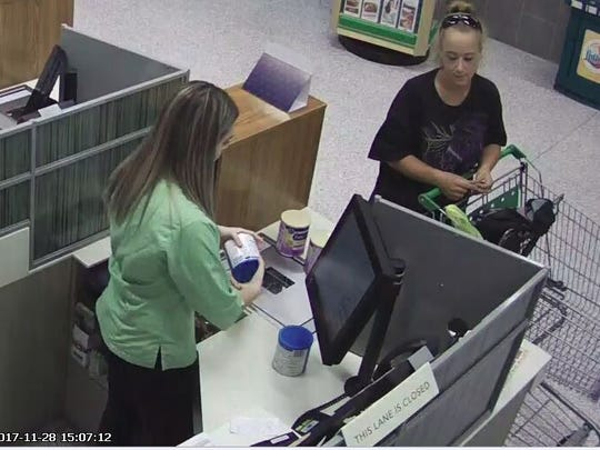 A Lehigh Acres woman has been identifiedby the Lee County Sheriff's Office as a suspect in the thefts of infant formula and other recent retail thefts.