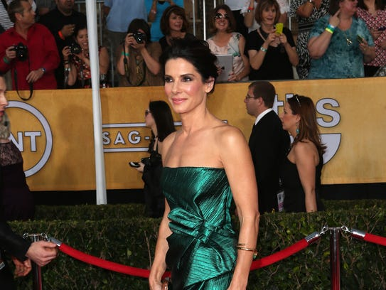 LOS ANGELES, CA - JANUARY 18:  Actress Sandra Bullock attends the 20th Annual Screen Actors Guild Awards at The Shrine Auditorium on January 18, 2014 in Los Angeles, California.  (Photo by Frederick M. Brown/Getty Images)