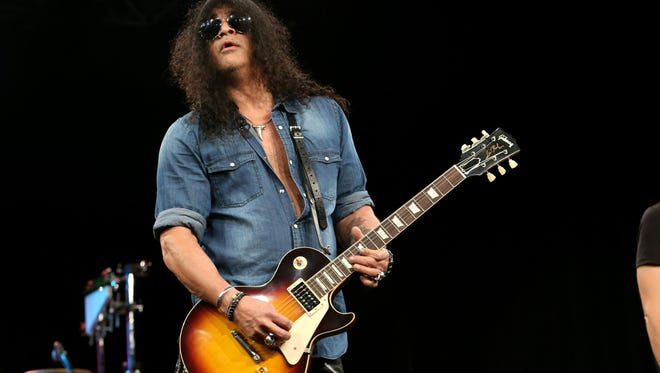Slash will be playing with Myles Kennedy and the Conspirators at the Rock Carnival.