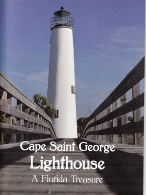 Cover photo of a new booklet about the Cape St. George Lighthouse.