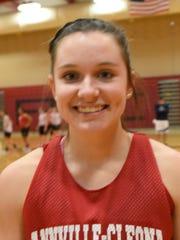 Annville-Cleona girls basketball senior Morgan Zimmerman.