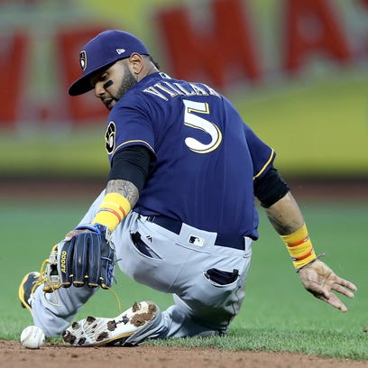 Second base: Villar, Pérez and Sogard all in the mix for starting job with Brewers