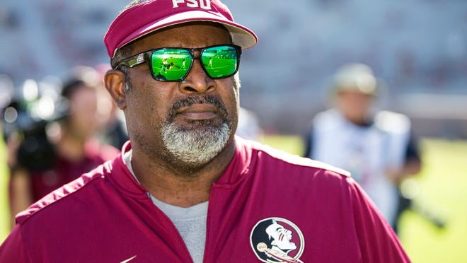 The Seminoles have named Odell Haggins as the interim head coach for the final three games.