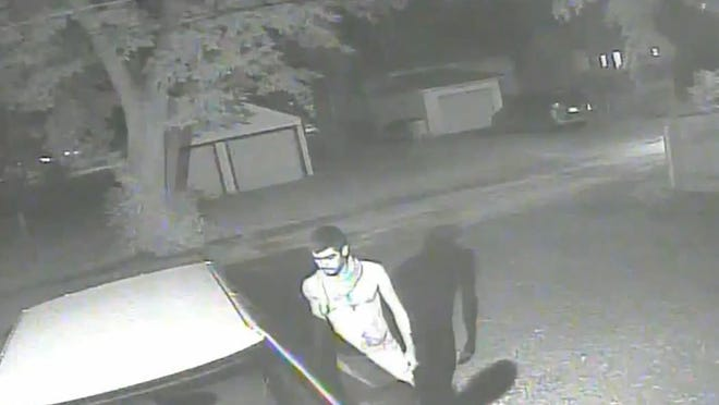 "This man is a ""person of interest"" in an arson fire Saturday morning on Chestnut Avenue."