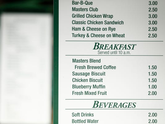 PGA: The Masters - First Round