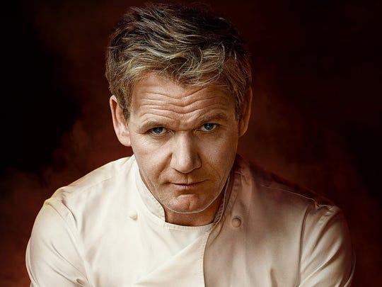 """Chef Gordon Ramsay, host of """"MasterChef."""""""