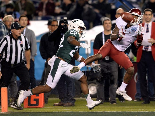 Washington State Cougars wide receiver Davontavean