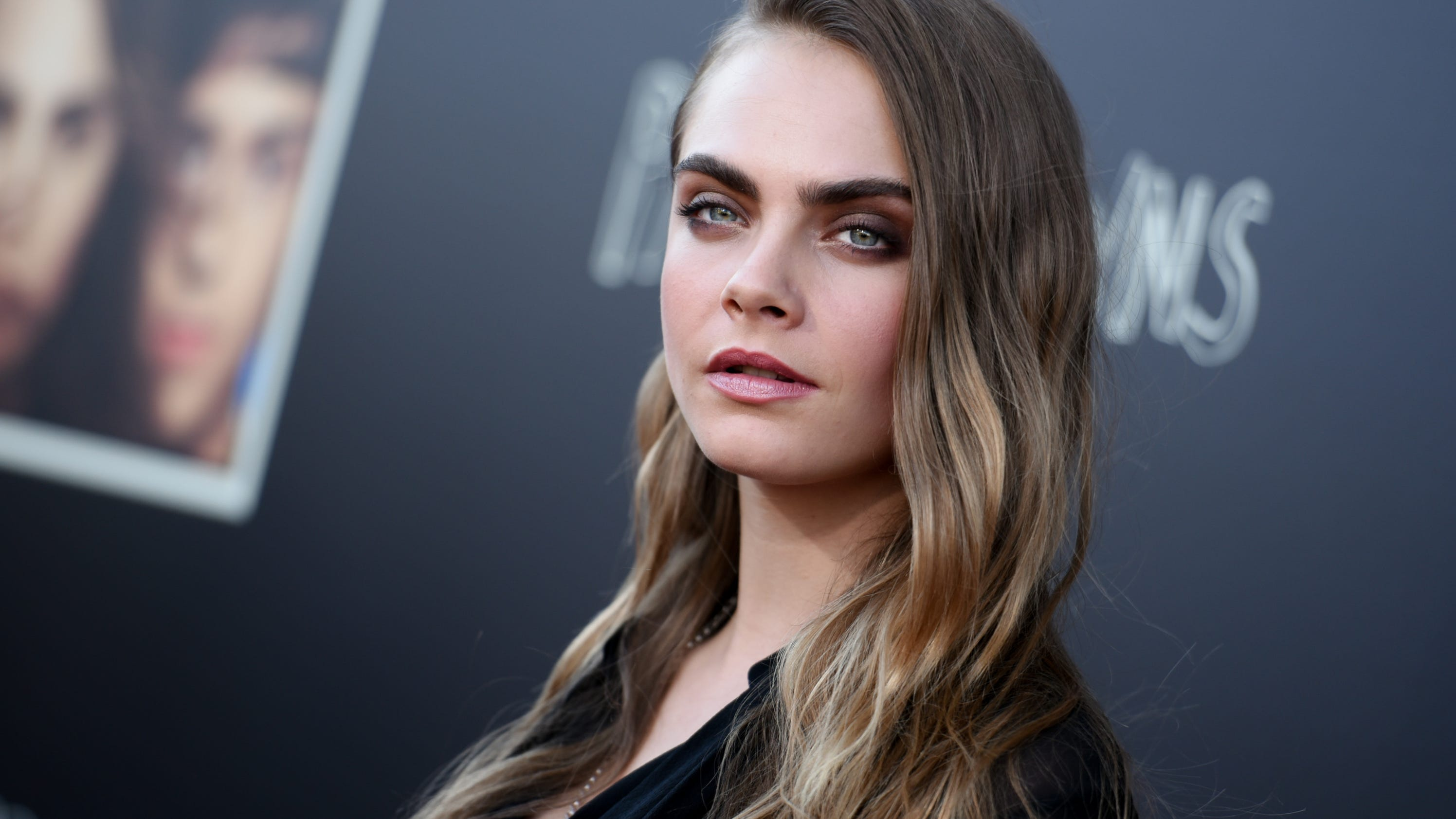 She's back! Cara Delevingne is the new face of YSL