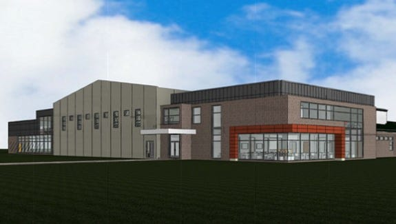 Solon High School has plans to upgrade its media center on a 2017-18 time line using dollars from a $6 million donation to the school. Design image by Struxture Architects.