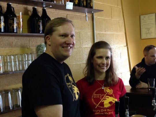 Erik and Heide Hassing opened Angry Erik Brewing in Lafayette in February 2014.
