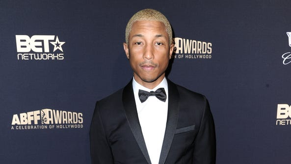 Pharrell Williams attends the 2016 ABFF Awards: A Celebration