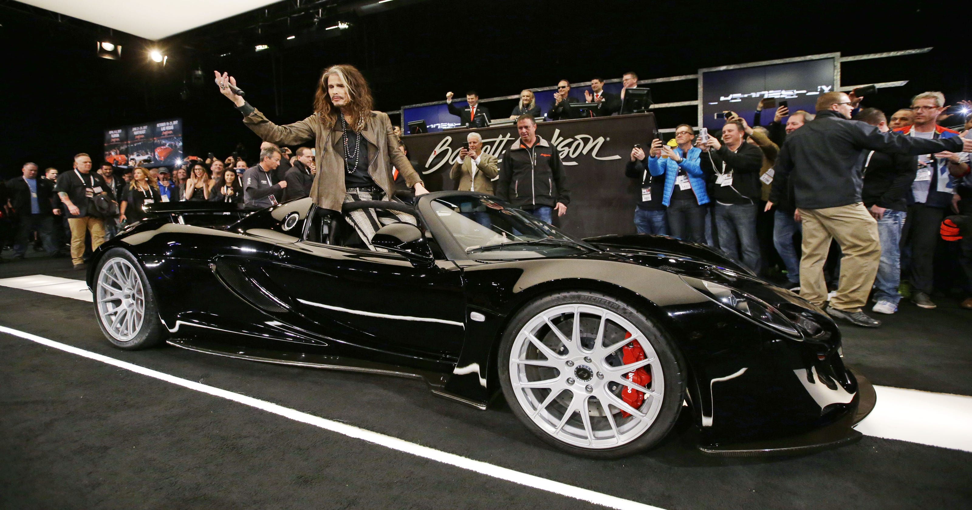 Car Auction Apps >> Barrett-Jackson wraps up record car, truck auction
