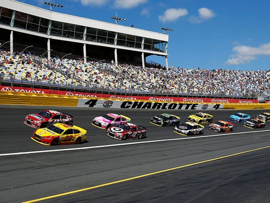 Joey logano scores first cup win at charlotte to advance for Charlotte motor speedway phone number