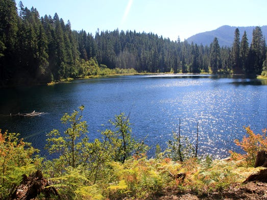 Best easy to moderate hikes near Detroit. No. 5 —Daly and Parish lakes. Seen here isDaly Lake.