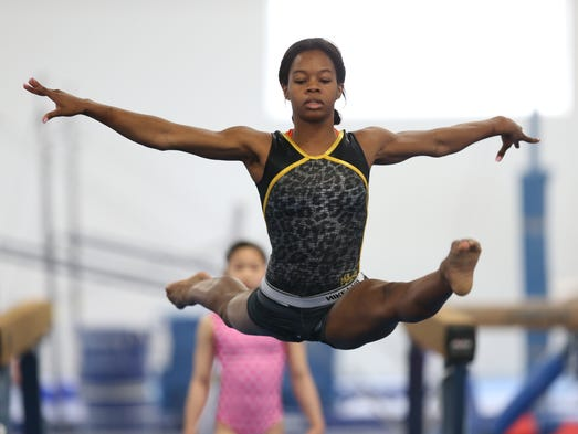 Gabby Douglas 'excited' about return to training for 2016 ...