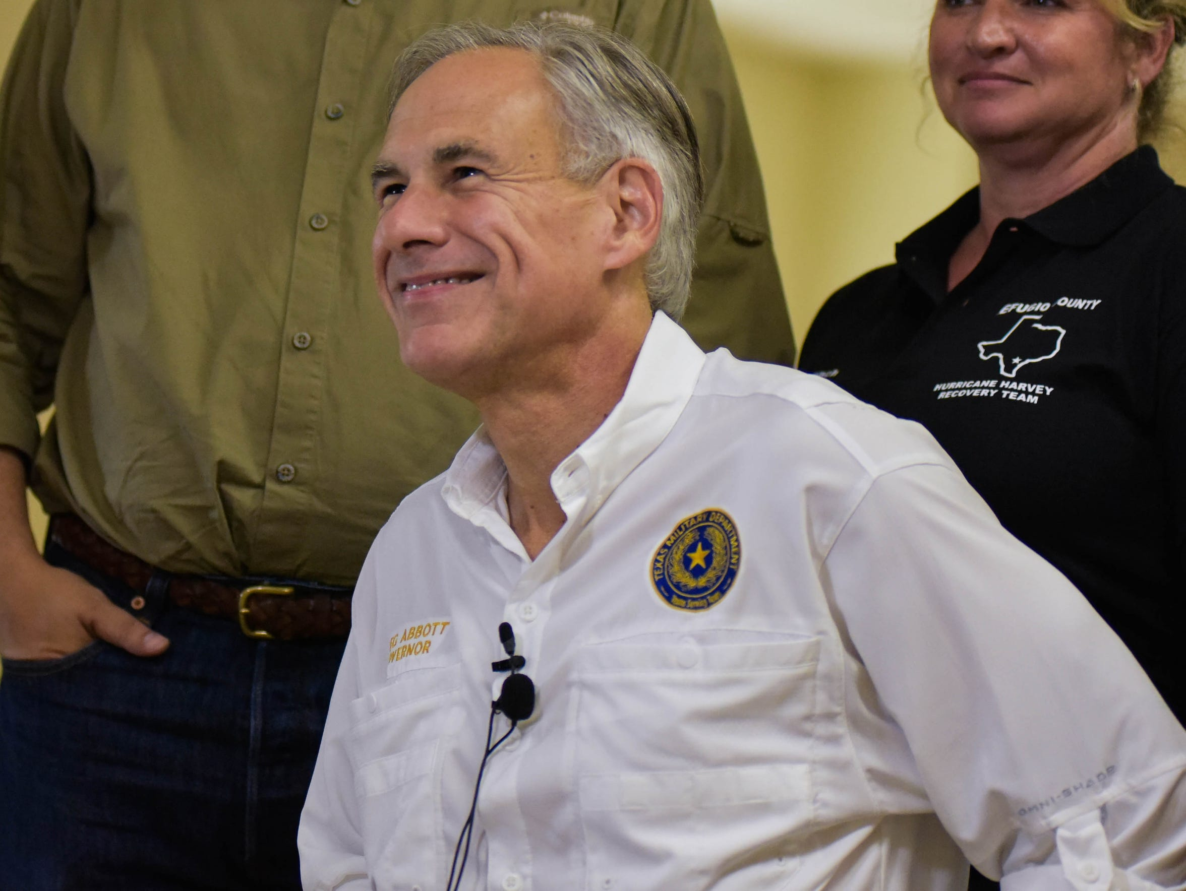 Gov. Greg Abbott will face the winner of the May 22 Democratic runoff in the Nov. 6 general election