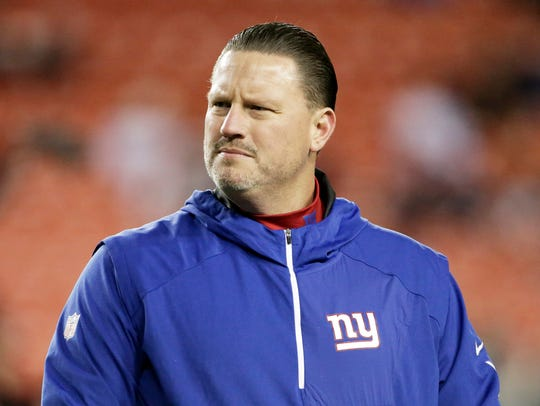 Giants have fired head coach Ben McAdoo