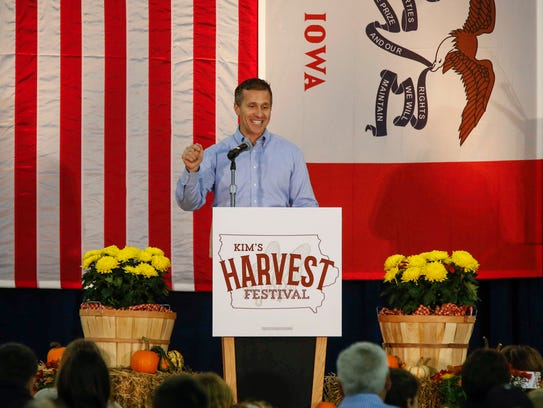 Missouri Gov. Eric Greitens was the guest speaker at
