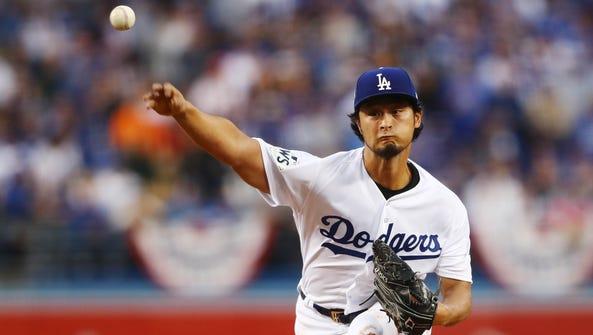 Nov 1, 2017; Los Angeles, CA, USA; Los Angeles Dodgers