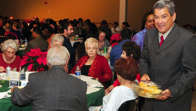 Supporters of the Opelousas Lighthouse Mission gathered Friday at the Opelousas Civic Center for the Lunch For Lighthouse event, the annual fundraiser for the Opelousas men's shelter.