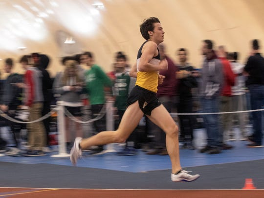 Point Pleasant Boro's Devin Hart in early laps of boys
