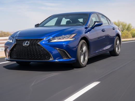 Lexus Just Introduced Its Redone Version Of The Es