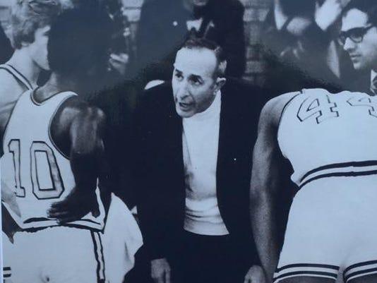 Vito Costanza with Edison basketball team.II