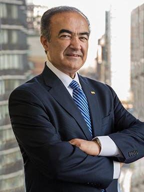New president Rahmat Shoureshi