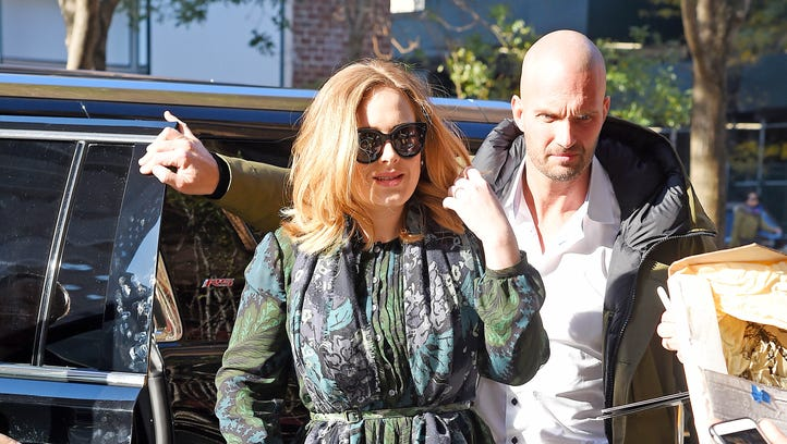 Adele, is there someone you need to introduce us to?