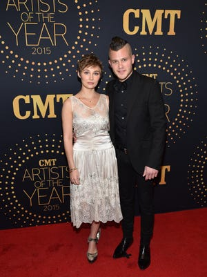 """attends the 2015 """"CMT Artists of the Year"""" at Schermerhorn Symphony Center on December 2, 2015 in Nashville, Tennessee."""