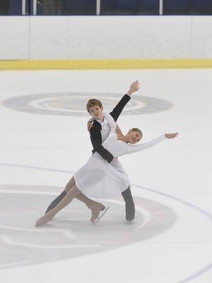 Sarah Dutton and Emmett King, Juvenile Dance.