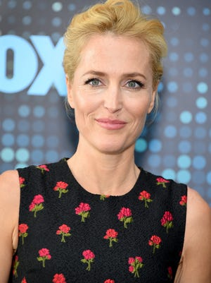 Gillian Anderson wants women to be more involved behind the camera on 'The X-Files.'