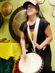 Jessie Lehmann will perform at the Asheville Percussion Festival.