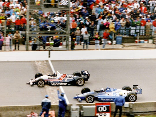 The 1992 Indianapolis 500 at the Indianapolis Motor Speedway became famous for the closest finish ever. Al Unser Jr.'s margin of victory over Scott Goodyear was 43 thousandths of a second.