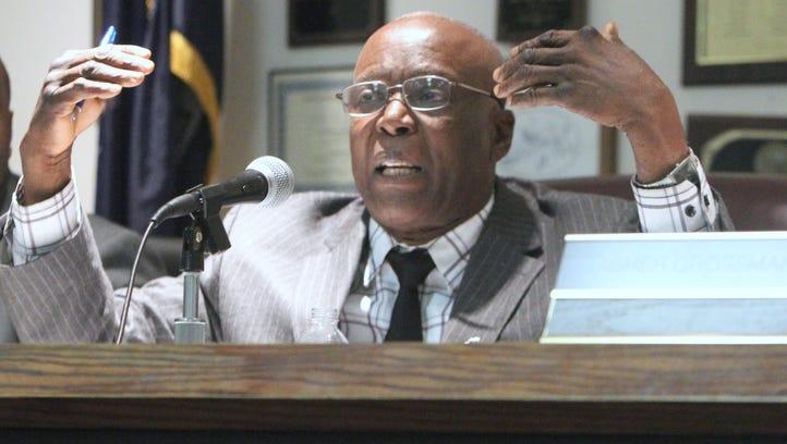 Spring Valley Mayor Demeza Delhomme photographed Jan.