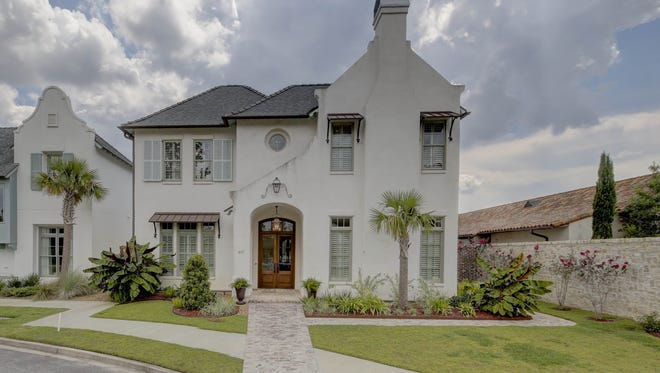 This 4 bedroom, 4 1/2 bath home has 3,933 square feet and is located at 617 Elysian Fields Drive in Lafayette. It is listed at $1,346,500.