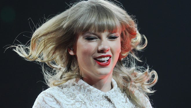 Taylor Swift brought her Red Tour to sold out Bankers Life Fieldhouse Friday April 26, 2013.
