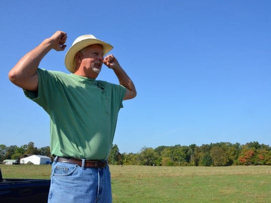Dan Hiday speaks about his farm and what he does day