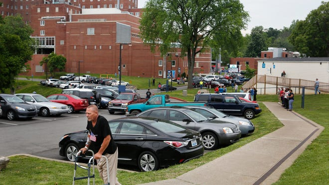 After 10 years, the Robley Rex VA Medical Center in Louisville still has not been replaced.
