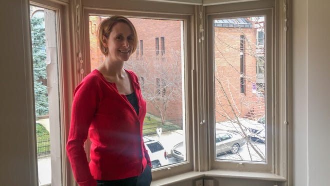 Kerryn Fulton, president and chief executive officer of C.S. Davidson Inc., was at her desk in her second floor office in at 38 N. Duke St., York, when gunfire exploded on the street outside.