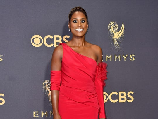 Actor Issa Rae attends the 69th Annual Primetime Emmy